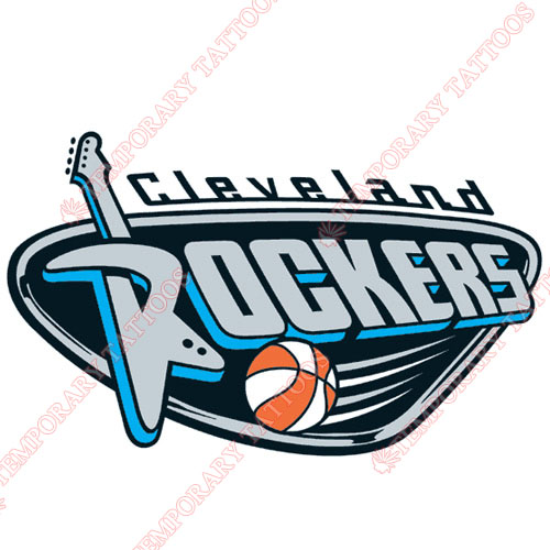 Cleveland Rockers Customize Temporary Tattoos Stickers NO.8550