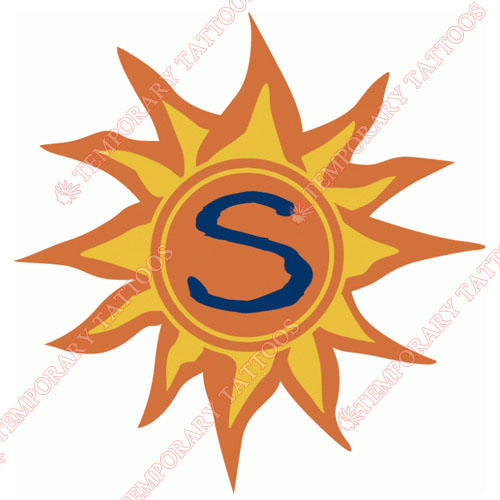 Connecticut Sun Customize Temporary Tattoos Stickers NO.8551