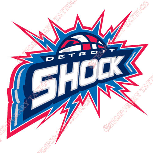 Detroit Shock Customize Temporary Tattoos Stickers NO.8555