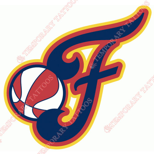 Indiana Fever Customize Temporary Tattoos Stickers NO.8558