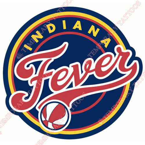 Indiana Fever Customize Temporary Tattoos Stickers NO.8559