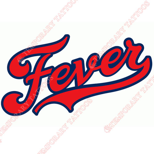 Indiana Fever Customize Temporary Tattoos Stickers NO.8560