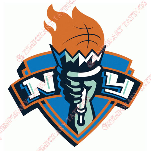 New York Liberty Customize Temporary Tattoos Stickers NO.8567