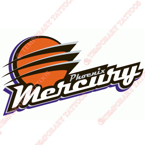 Phoenix Mercury Customize Temporary Tattoos Stickers NO.8570