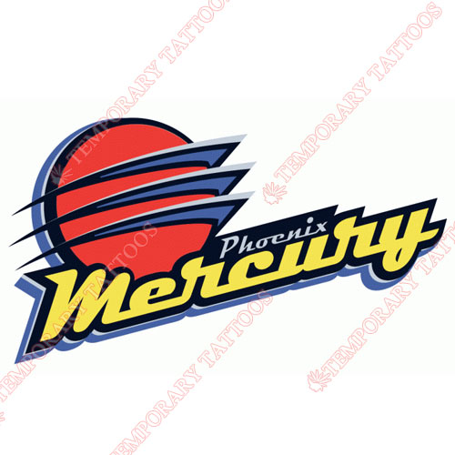 Phoenix Mercury Customize Temporary Tattoos Stickers NO.8573