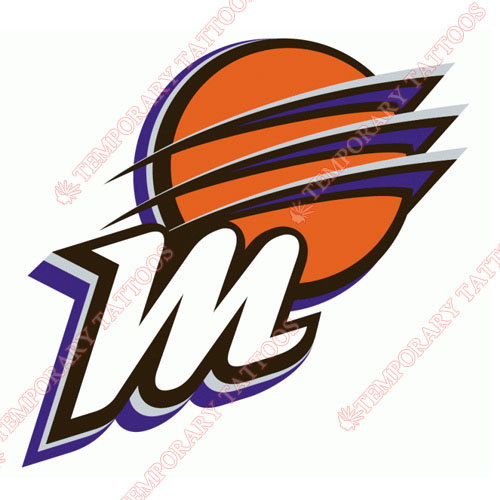 Phoenix Mercury Customize Temporary Tattoos Stickers NO.8574