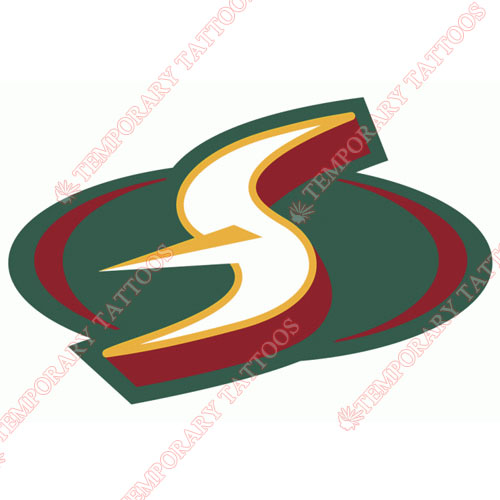 Seattle Storm Customize Temporary Tattoos Stickers NO.8581