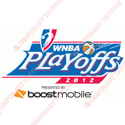 WNBA Playoffs Customize Temporary Tattoos Stickers NO.8605