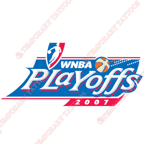 WNBA Playoffs Customize Temporary Tattoos Stickers NO.8606