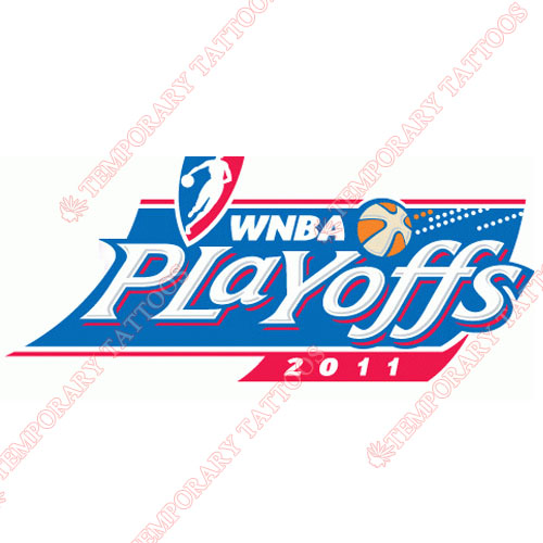 WNBA Playoffs Customize Temporary Tattoos Stickers NO.8607