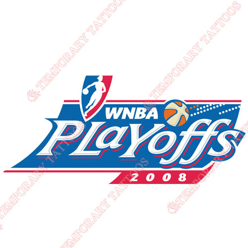WNBA Playoffs Customize Temporary Tattoos Stickers NO.8608
