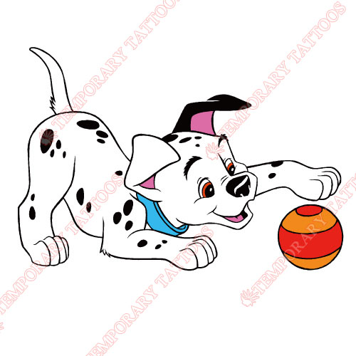 101 Dalmatians Customize Temporary Tattoos Stickers NO.635