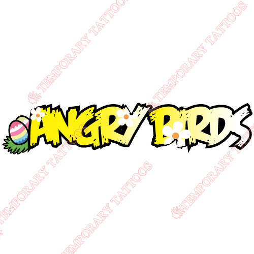 Angry Birds Customize Temporary Tattoos Stickers NO.1285