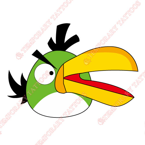 Angry Birds Customize Temporary Tattoos Stickers NO.1287