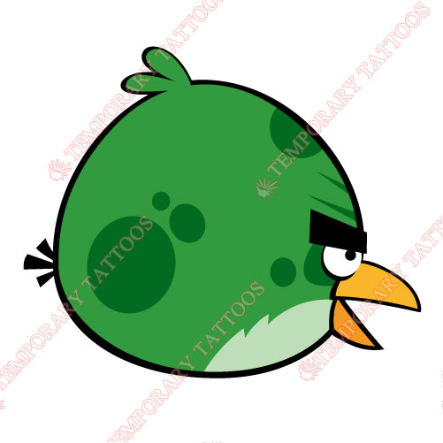 Angry Birds Customize Temporary Tattoos Stickers NO.1297