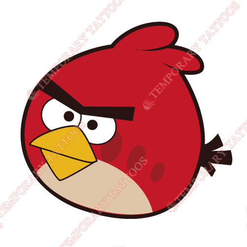 Angry Birds Customize Temporary Tattoos Stickers NO.1314