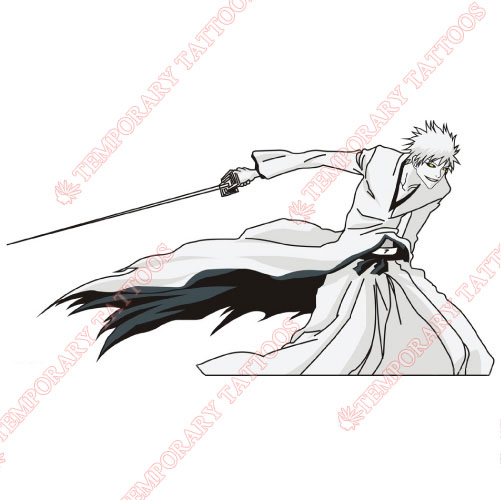 BLEACH Customize Temporary Tattoos Stickers NO.515