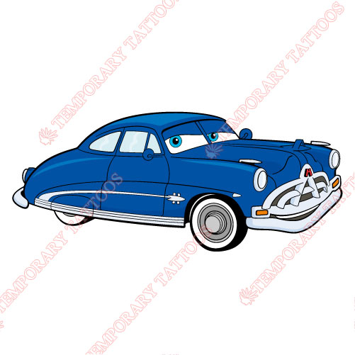 Cars Customize Temporary Tattoos Stickers NO.3293
