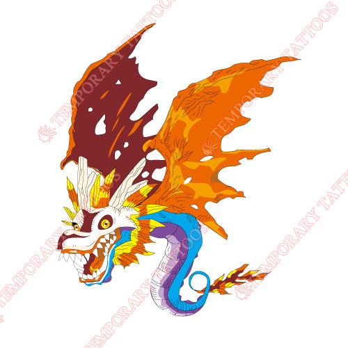 Digital Monsters Customize Temporary Tattoos Stickers NO.3530