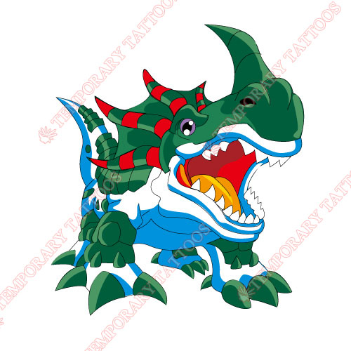 Digital Monsters Customize Temporary Tattoos Stickers NO.3542