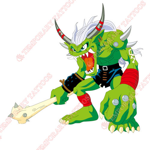 Digital Monsters Customize Temporary Tattoos Stickers NO.3543
