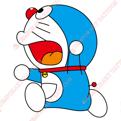 Doraemon Customize Temporary Tattoos Stickers NO.756