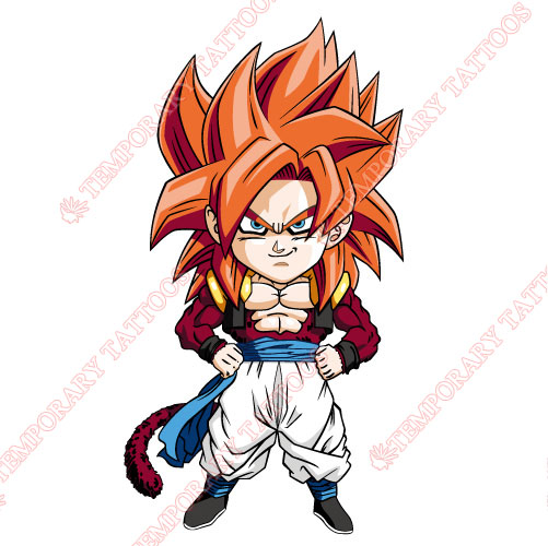 Dragon Ball Customize Temporary Tattoos Stickers NO.3568