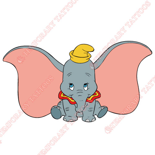 Dumbo Customize Temporary Tattoos Stickers NO.3606