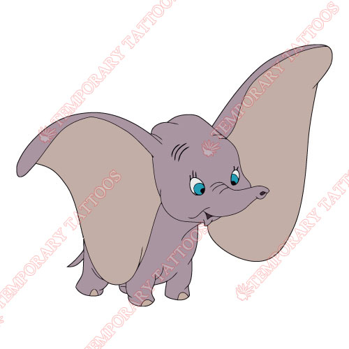 Dumbo Customize Temporary Tattoos Stickers NO.3607