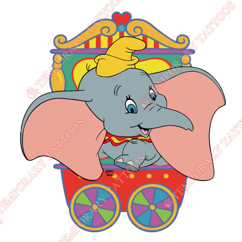 Dumbo Customize Temporary Tattoos Stickers NO.3608