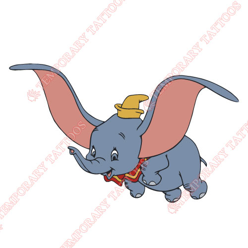 Dumbo Customize Temporary Tattoos Stickers NO.3609