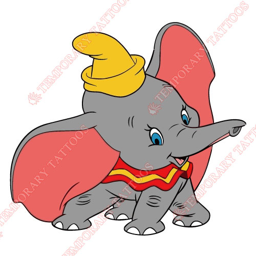 Dumbo Customize Temporary Tattoos Stickers NO.3611