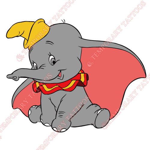 Dumbo Customize Temporary Tattoos Stickers NO.3612