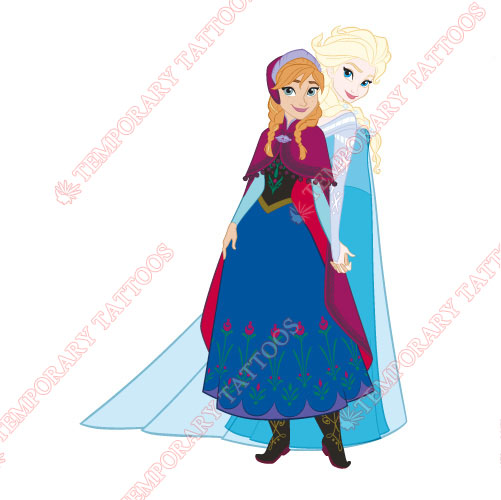 Frozen Customize Temporary Tattoos Stickers NO.3313