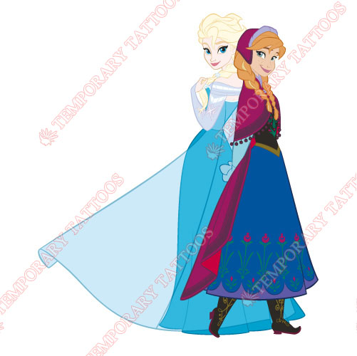 Frozen Customize Temporary Tattoos Stickers NO.3314