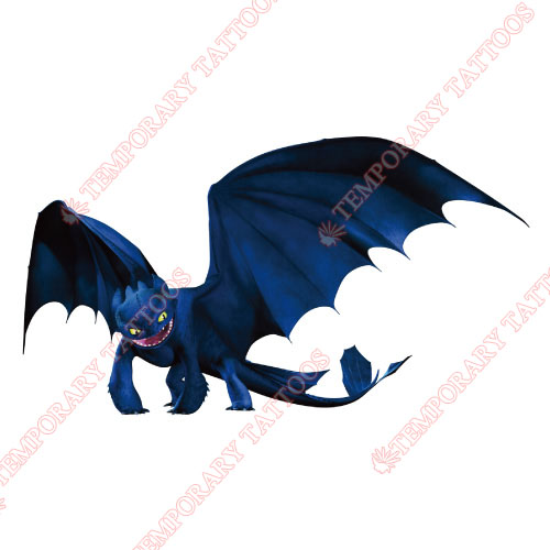 How to Train Your Dragon Customize Temporary Tattoos Stickers NO.3335