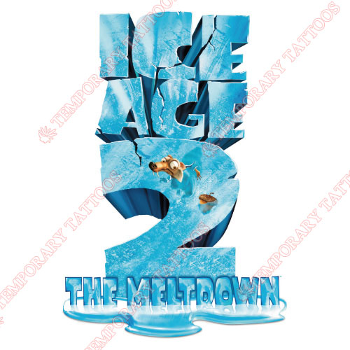 Ice Age Customize Temporary Tattoos Stickers NO.3346