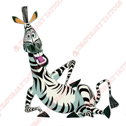 Madagascar Customize Temporary Tattoos Stickers NO.3373