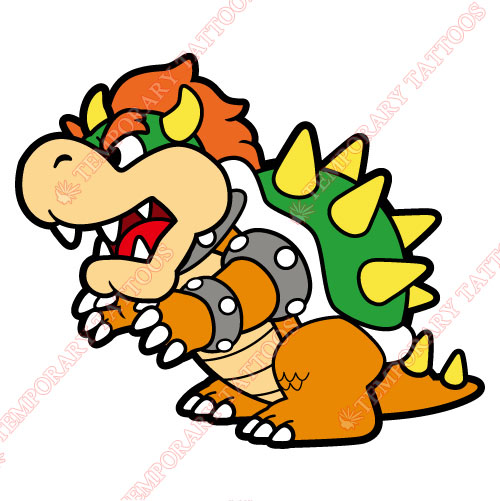 Mario Customize Temporary Tattoos Stickers NO.1357