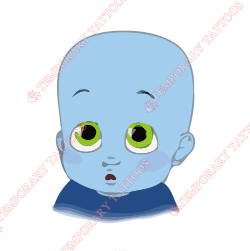Megamind Customize Temporary Tattoos Stickers NO.3390