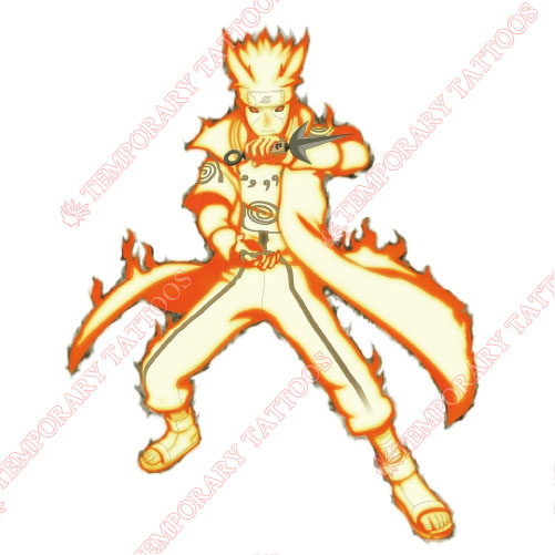NARUTO Customize Temporary Tattoos Stickers NO.540