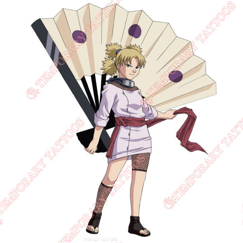 NARUTO Customize Temporary Tattoos Stickers NO.555