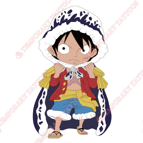 One Piece Customize Temporary Tattoos Stickers NO.603