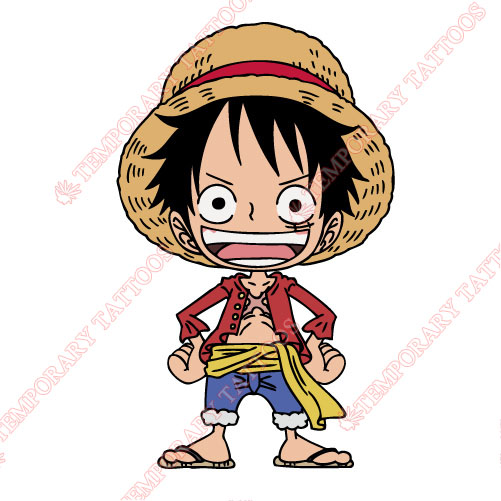 One Piece Customize Temporary Tattoos Stickers NO.615