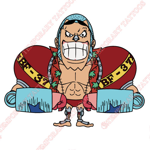 One Piece Customize Temporary Tattoos Stickers NO.622