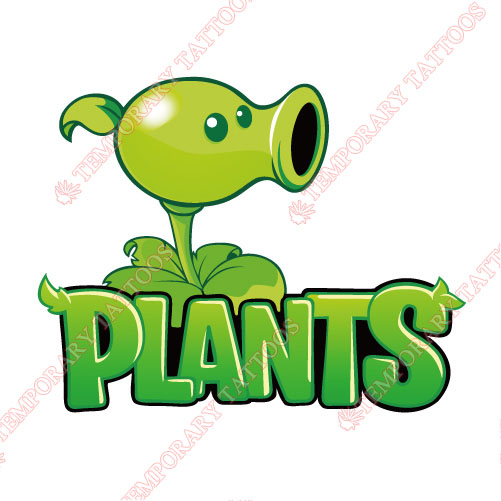 Plants vs Zombies Customize Temporary Tattoos Stickers NO.974