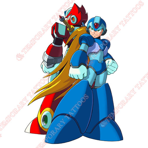 Rockman Customize Temporary Tattoos Stickers NO.5256