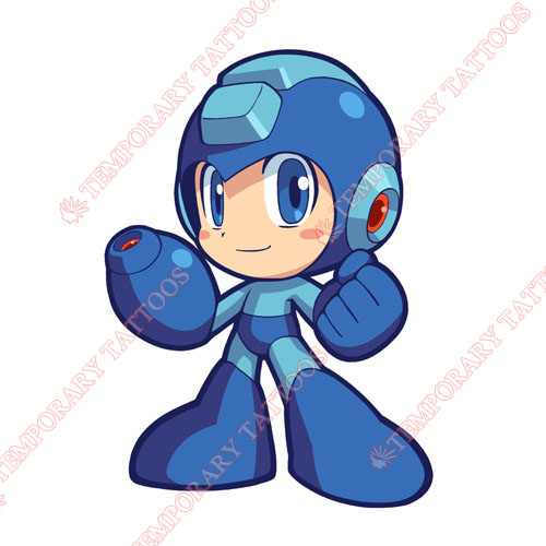 Rockman Customize Temporary Tattoos Stickers NO.5284