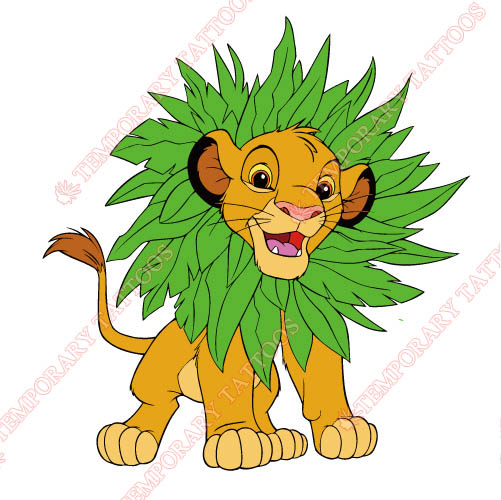 The Lion King Customize Temporary Tattoos Stickers NO.935