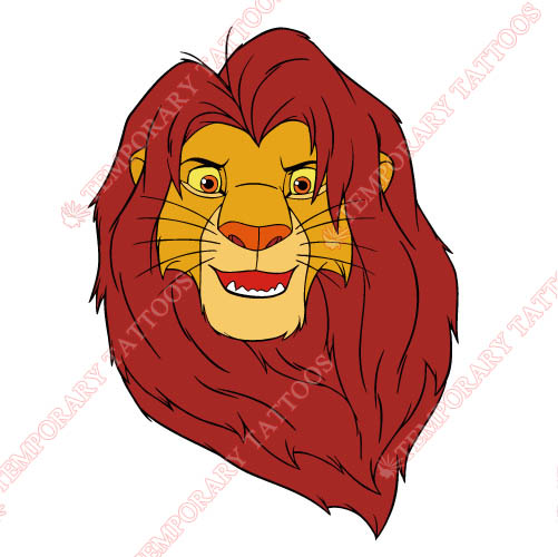 The Lion King Customize Temporary Tattoos Stickers NO.937